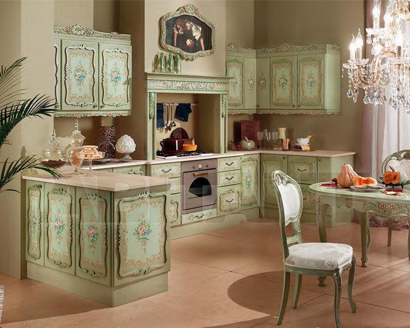 Кухонный гарнитур светло-зеленый Marconcini Cucina senza ...