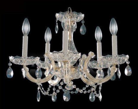 Купить Люстра MONTECARLO CLEAR Iris Cristal Classic 610142 5