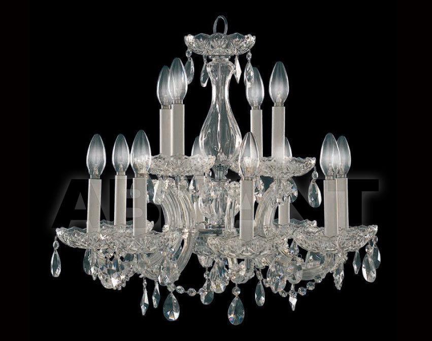 Купить Люстра MONTECARLO CLEAR Iris Cristal Classic 610142 12