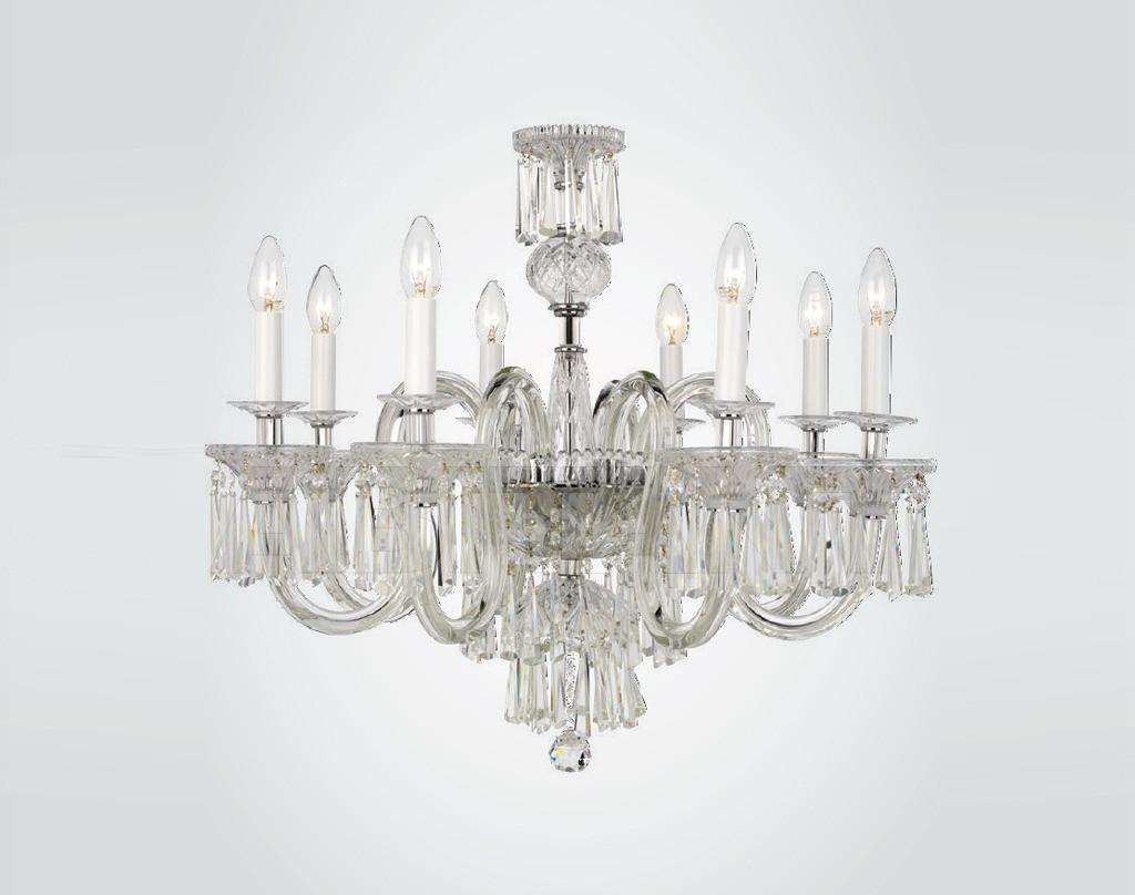 Купить Люстра SURREY Iris Cristal Luxus 620189 8 2