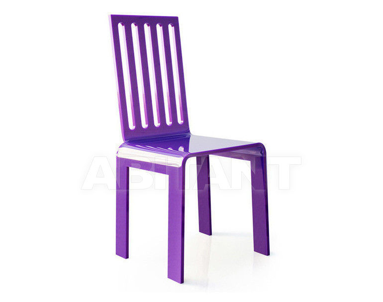 Купить Стул Acrila Outdoor Lace or rungs chairs purple