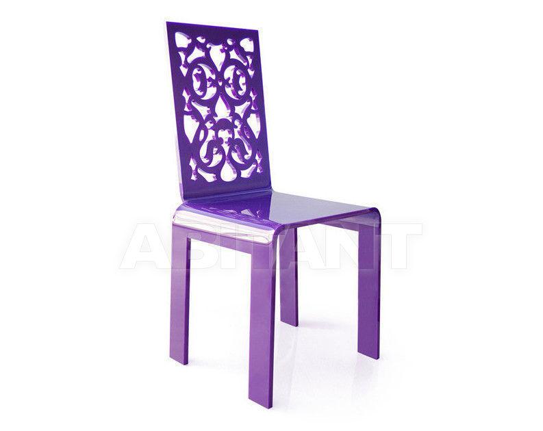 Купить Стул Acrila Outdoor Lace or rungs chairs purple 1