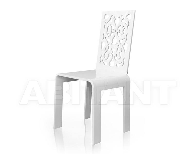 Купить Стул Acrila Outdoor Lace or rungs chairs white