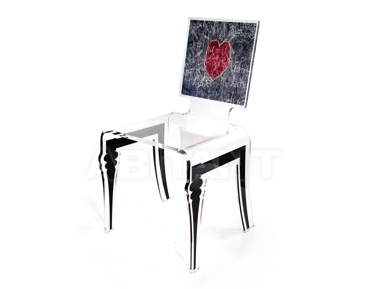 Купить Стул Acrila Graph Line Graph chair Heart