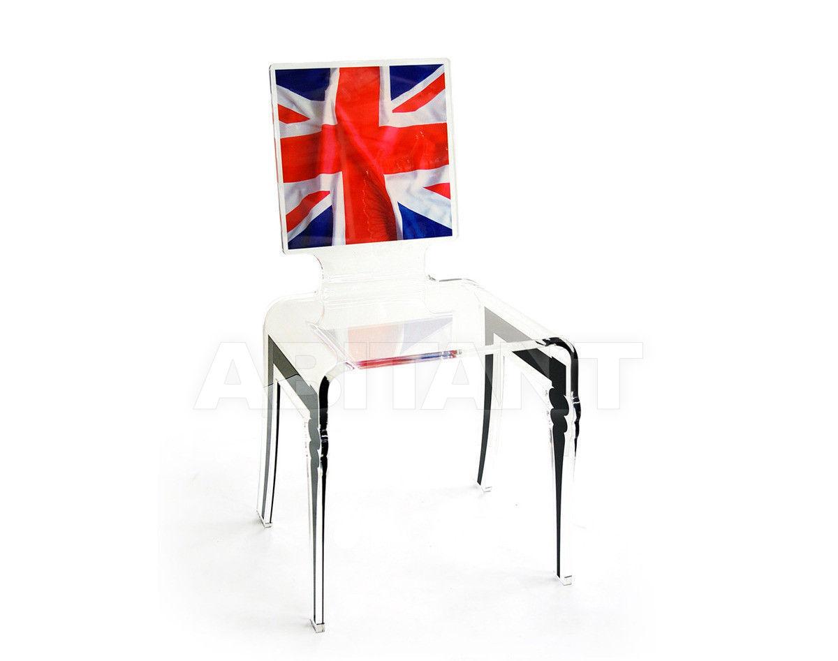 Купить Стул Acrila Graph Line Graph chair UK flag