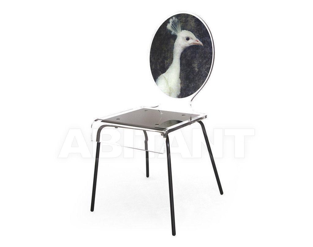 Купить Стул Acrila Graph Line Graph chair Peacock