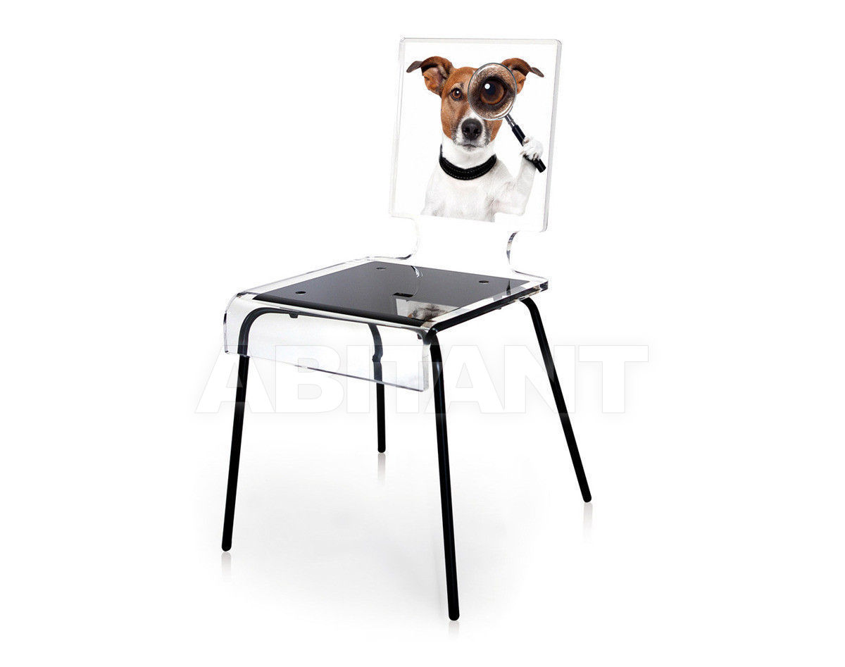 Купить Стул Acrila Graph Line Сhair Detective dog