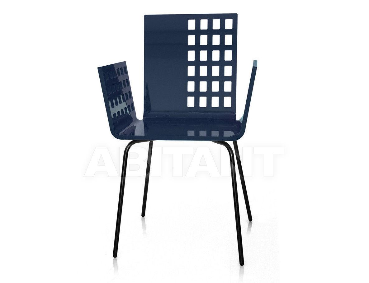 Купить Стул с подлокотниками Acrila Graph Line Cali squared chair