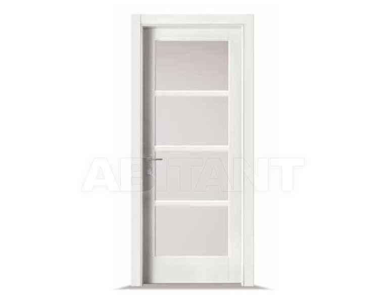 Купить Дверь деревянная Bertolotto Baltimora 2001 F4 satinato bianco