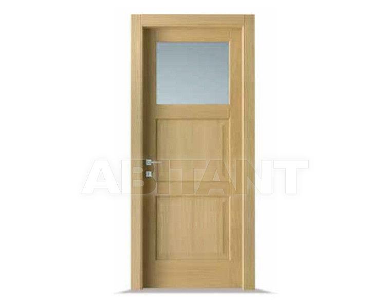 Купить Дверь деревянная Bertolotto Baltimora 2015 V1 satinato Blu
