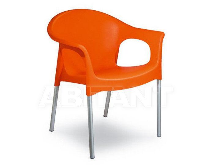 Купить Стул с подлокотниками MARY Contral Outdoor 406 11 = orange