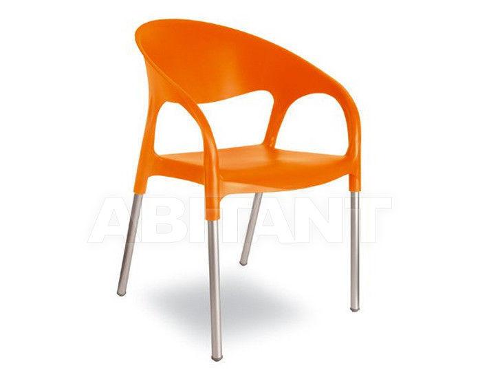 Купить Стул с подлокотниками LUNA Contral Outdoor 407 11 = orange