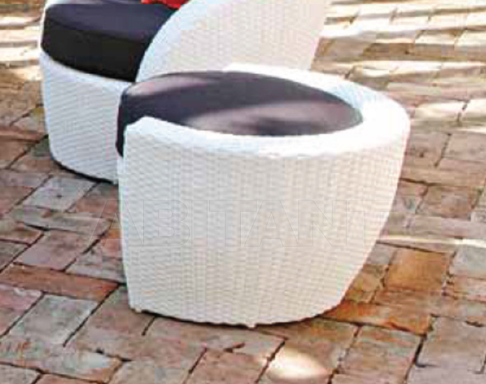 Купить Пуф LOTUS Contral Outdoor 526 BCO = bianco