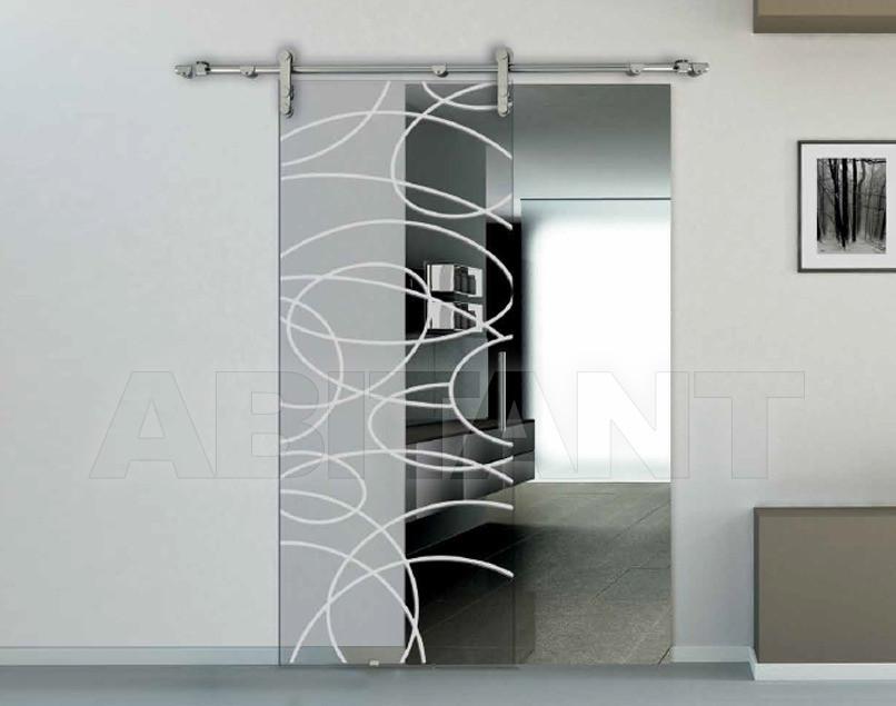 Купить Дверь  стеклянная Bertolotto Natura 3235 sabbiato scomparsa
