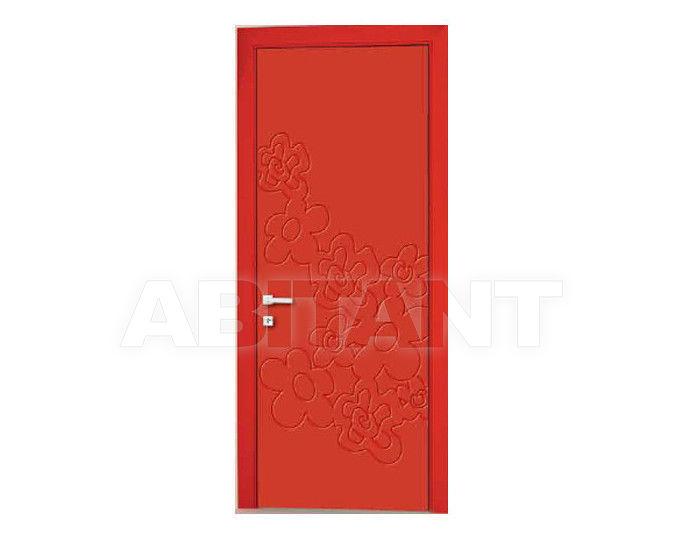 Купить Дверь деревянная Bertolotto Natura trolius incisa red