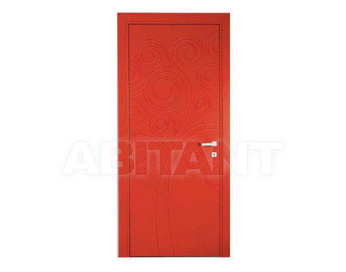 Купить Дверь деревянная Bertolotto Natura tree incisa red