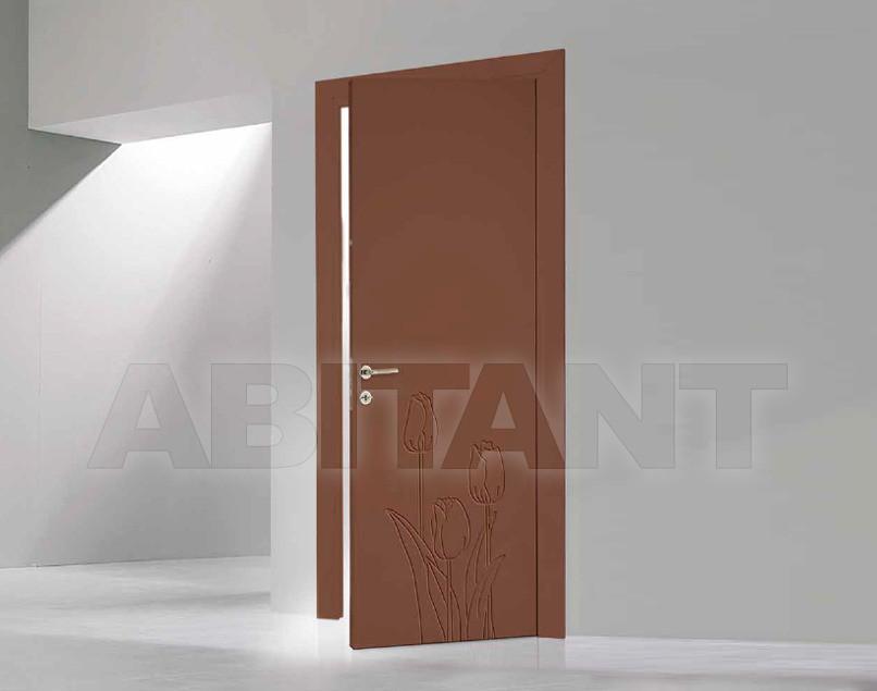 Купить Дверь деревянная Bertolotto Natura tulipan incisa teracot