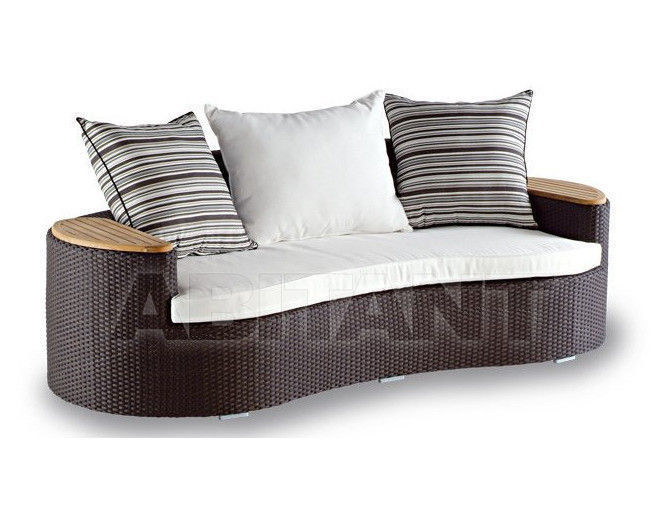 Купить Диван OCEAN Contral Outdoor 552 COF = coffee