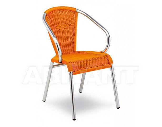 Купить Стул с подлокотниками SILVIA Contral Outdoor 708 11 = orange