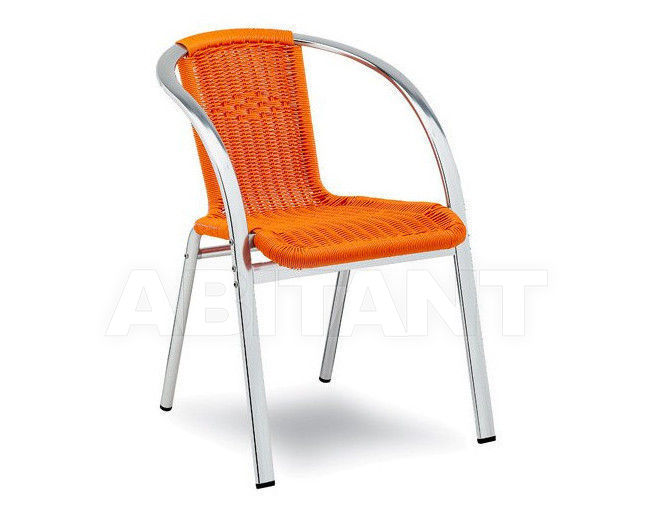 Купить Стул с подлокотниками RIALTO Contral Outdoor 710 11 = orange