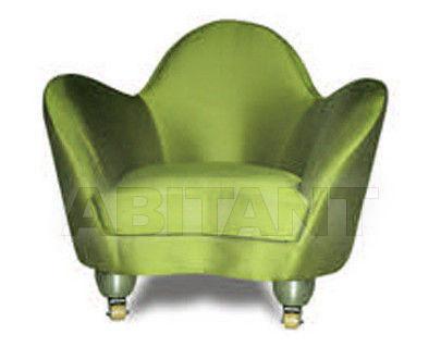Купить Кресло D'argentat Paris Exworks JULES ET JIM armchair green