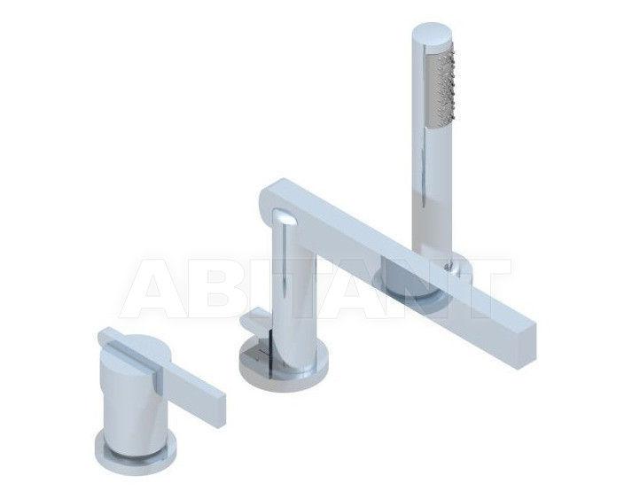 Купить Смеситель для ванны THG Bathroom U2B.113BSG Alberto Pinto with lever