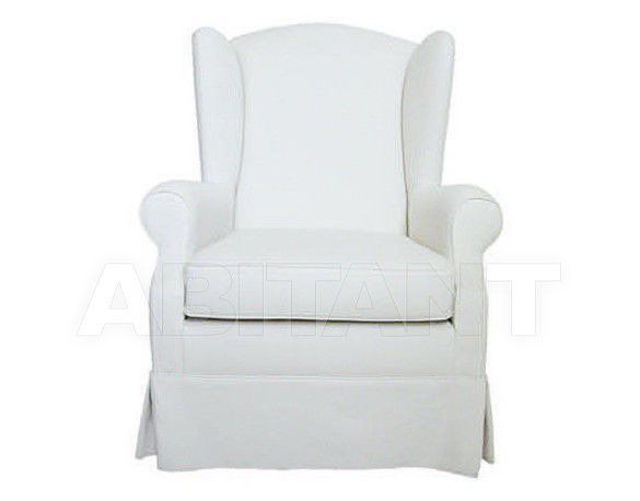 Купить Кресло D'argentat Paris Exworks WINDSOR armchair white