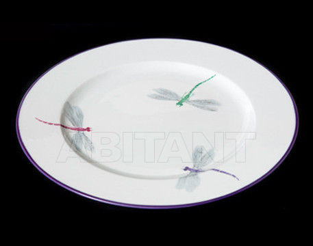 Купить Посуда декоративная Ines de Nicolay Dragon Flies Round platter Dragon Flies
