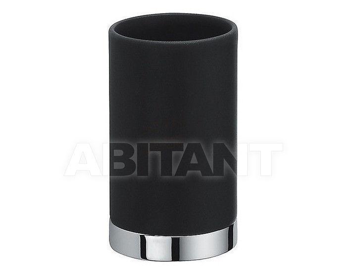 Купить Стакан для зубных щеток Colombo Design Nordic B5241 black ceramics
