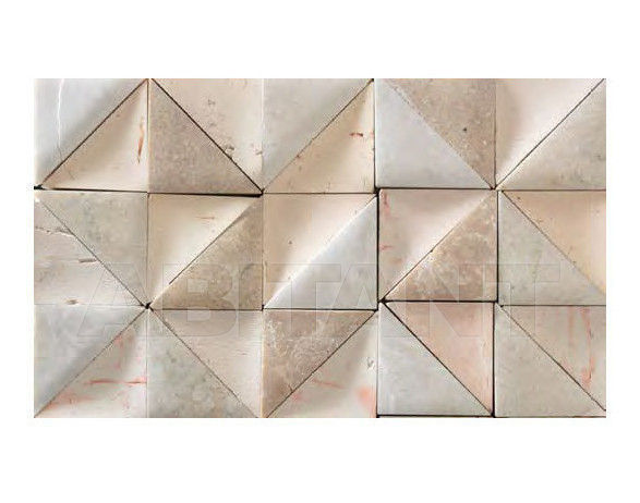 Купить Мозаика BDSR Giovanni Barbieri Rurale Triangles Mosaics white