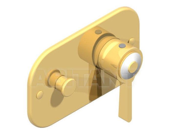 Купить Встраиваемый смеситель THG Bathroom A7D.6550 Capucine mauve butterfly gold decor