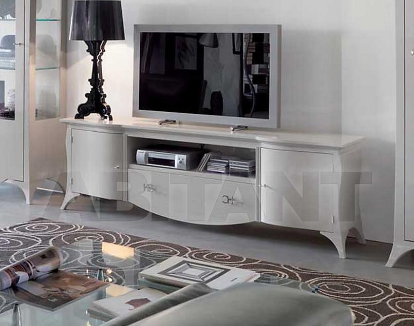 Купить Стойка под аппаратуру Carpanese Home Wood And White 3085