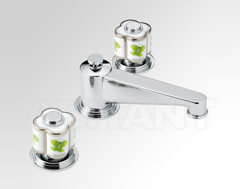 Купить Смеситель для биде THG Bathroom A7E.2151 Capucine vert décor Platine