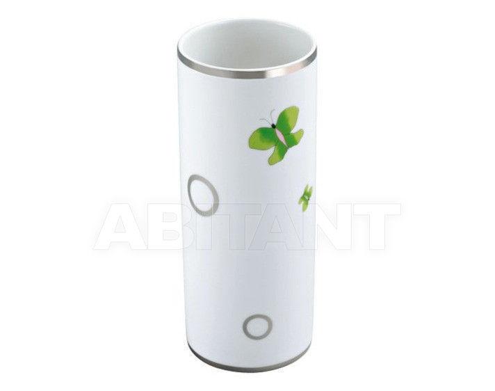 Купить Ваза THG Bathroom A7E.4609 Capucine vert décor Platine
