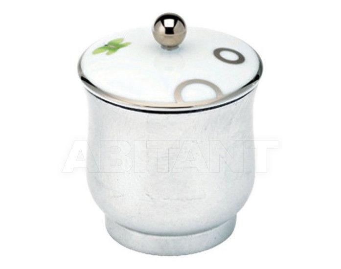 Купить Шкатулка THG Bathroom A7E.4619 Capucine vert décor Platine