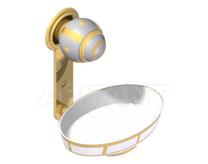 Купить Мыльница THG Bathroom A7A.500B Ithaque gold decor