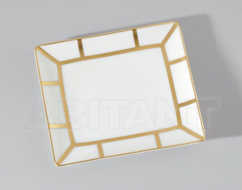 Купить Посуда декоративная THG Bathroom A7A.4612 Ithaque gold decor