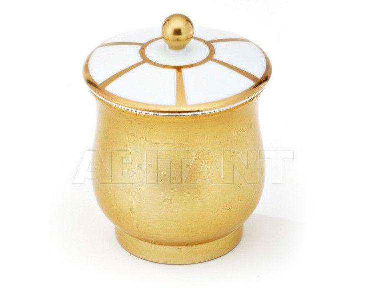 Купить Шкатулка THG Bathroom A7A.4619 Ithaque gold deco
