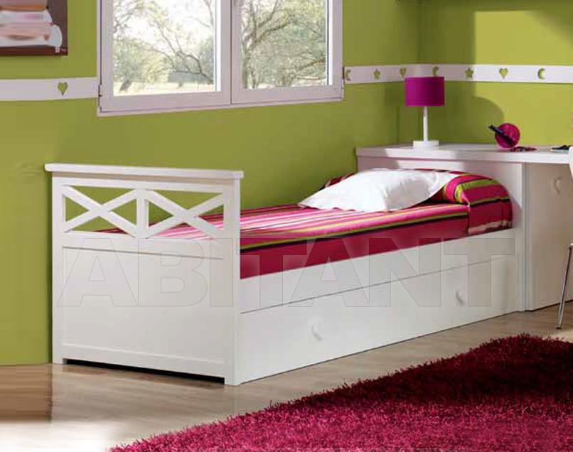Купить Кровать детская Trebol Juvenil Silver 01.02.211