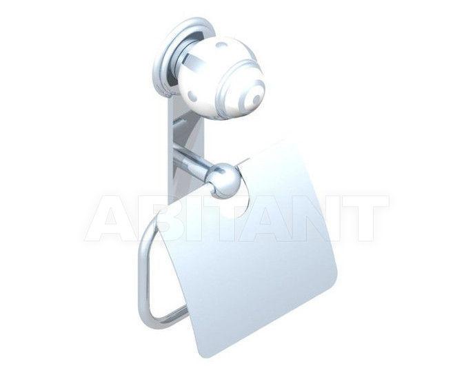 Купить Держатель для туалетной бумаги THG Bathroom A7B.538AC Ithaque platinum decor