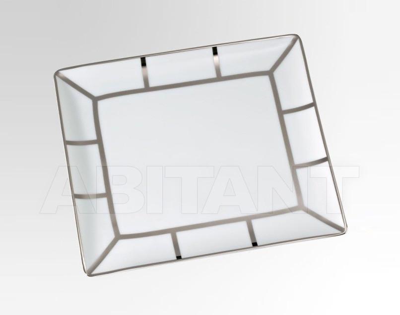 Купить Посуда декоративная THG Bathroom A7B.4614 Ithaque platinum decor