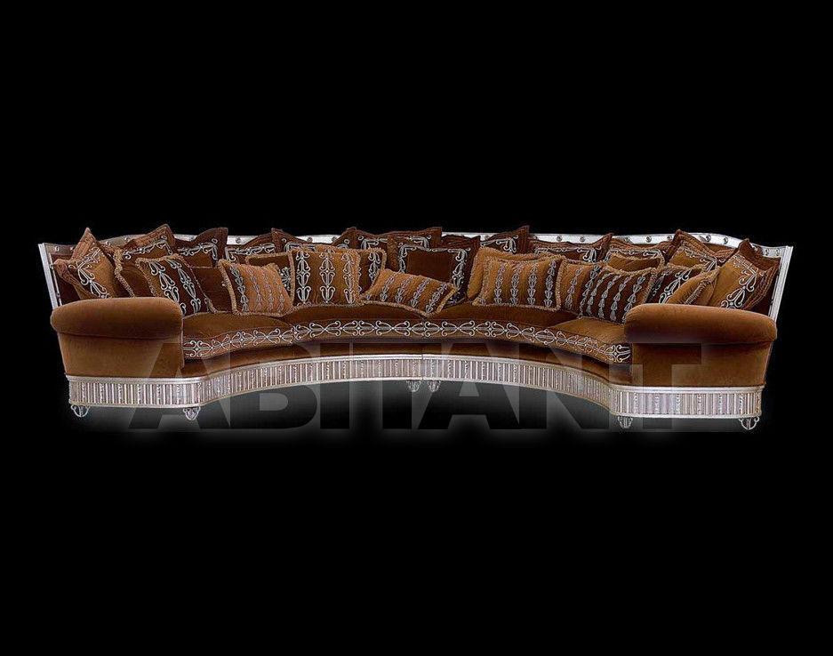 Купить Диван SILVER AND GOLD Isacco Agostoni Contemporary 1260 HALF ROUND SOFA