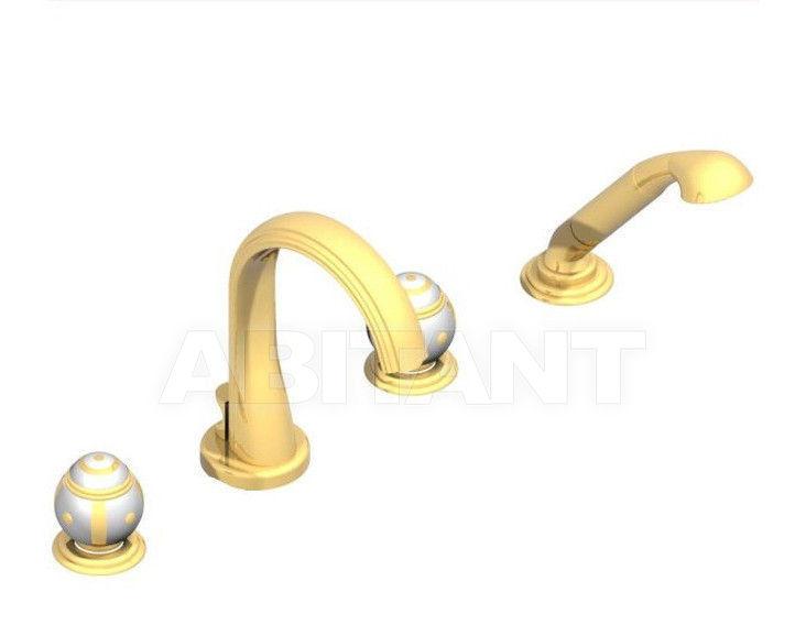 Купить Смеситель для ванны THG Bathroom A7A.112B Ithaque gold decor
