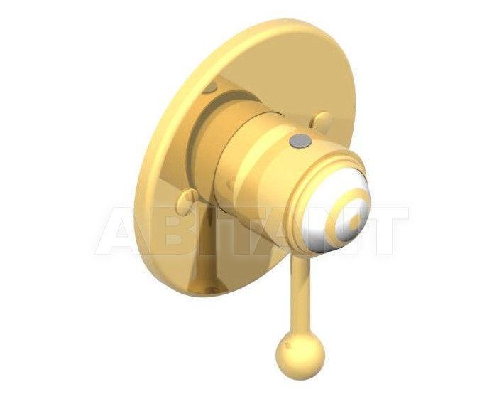 Купить Встраиваемые смесители THG Bathroom A7A.6540 Ithaque gold decor