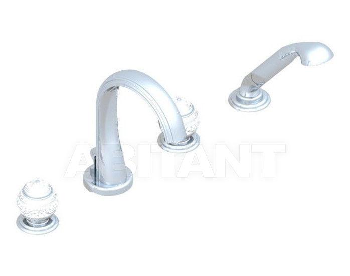 Купить Смеситель для ванны THG Bathroom A7G.112B Marquise platinum decor