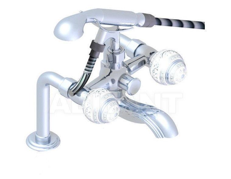 Купить Смеситель для ванны THG Bathroom A7G.13G Marquise platinum decor