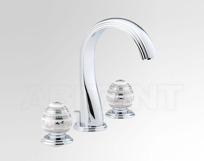 Купить Смеситель для раковины THG Bathroom A7G.151 Marquise platinum decor