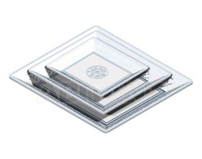 Купить Посуда декоративная THG Bathroom  A7G.4626 Marquise platinum decor