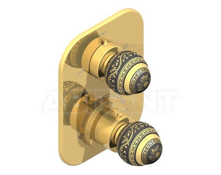 Купить Смеситель термостатический THG Bathroom A7F.5500B Marquise gold decor