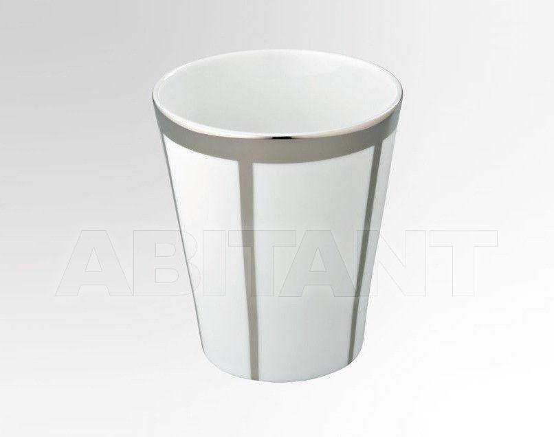 Купить Стакан для зубных щеток THG Bathroom A7C.4608 Passion platinum decor